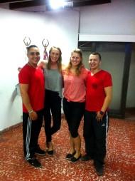 die besten Tanzlehrer: links Diego (Salsa)-rechts Johnny (Bachata)